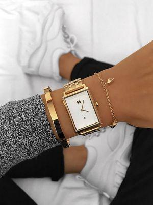 как сочетать браслет с часами