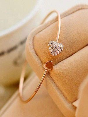 браслет-кольцо с бриллиантами