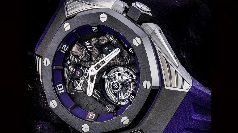 Часы Audemars Piguet Royal Oak Concept «Black Panther» Flying Tourbillon выставлены на аукционе Christie's