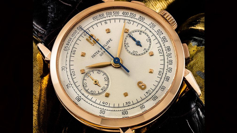 Хронограф Patek Philippe Ref. 1579R в корпусе из розового золота (от 165 000 до 250 000 долларов)