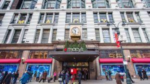Продажи ювелирных изделий Macy's выросли во втором квартале