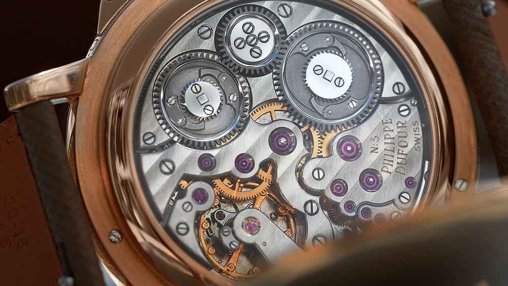 Часы Grande et Petite Sonnerie от Филиппа Дюфура