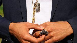 Лучшие мужские украшения с бриллиантами на выставке COUTURE 2021