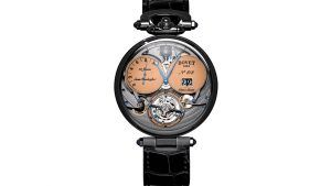 Bovet обновляет свои классические часы Virtuoso VIII титаном и Super-Luminova