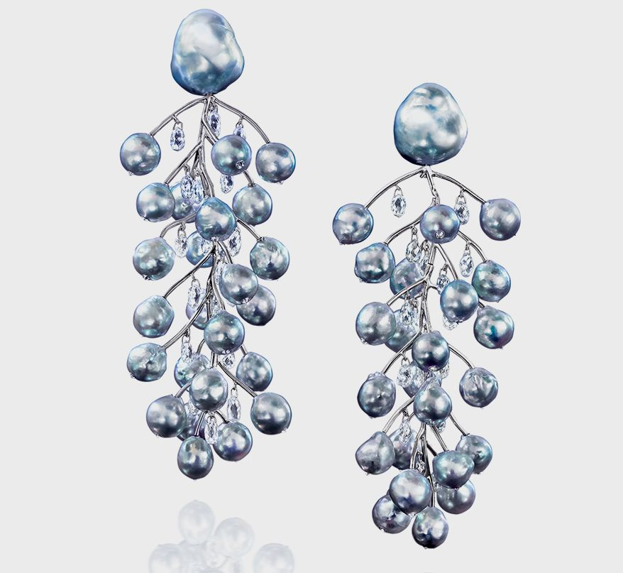 Серьги Winter Branches от Assael получили награду Couture Design Award 2021 в категории «Лучшее в жемчуге» и приз зрительских симпатий