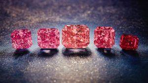 Последние в мире розовые бриллианты из рудника Аргайл выставлены на продажу