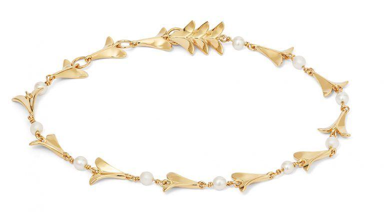 Золотой браслет с жемчугом, Annoushka X Temperley Bridal Jewels