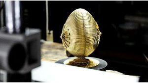Fabergé демонстрирует Centenary Egg на выставке Vicenzaoro
