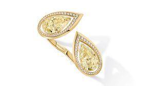 В коллекции Magnetic Attraction от Messika много желтых бриллиантов