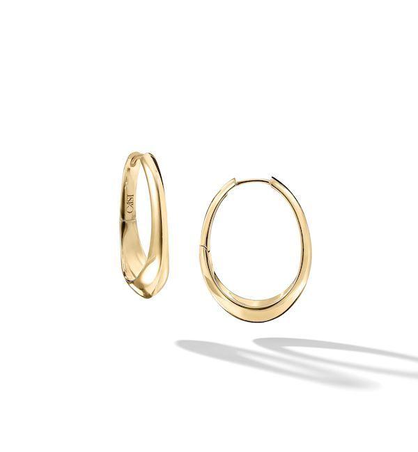 Мини-обручи Brazen Beauty Fluid из 14-каратного золота от Кристи Форд