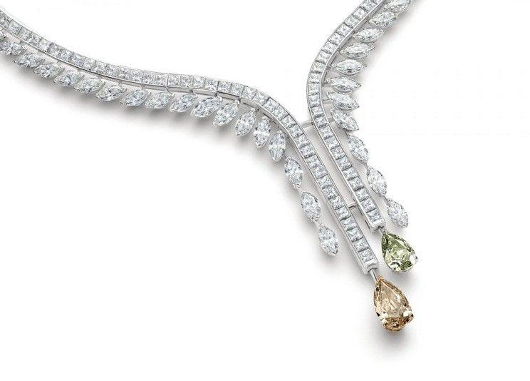 Колье Diamond Legends от De Beers из белого и розового золота с бриллиантами