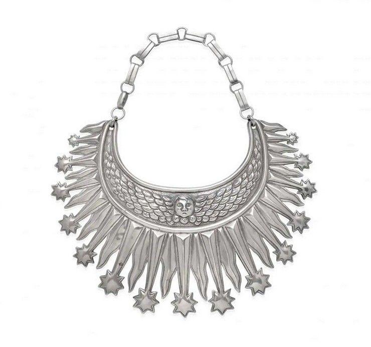 Серебряное ожерелье от Уильяма Спратлинга