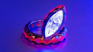 Светящиеся перспективы: флуоресцентные бриллианты