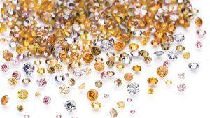 Сенсационные оттенки бриллиантов